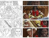 ILUSTRACIÓN/ COMIC - Primer numero comic genesis