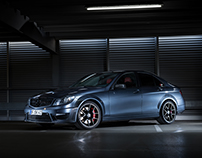 Mercedes C63 AMG - Photography