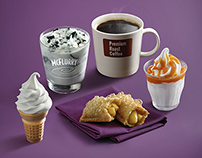 McDonald's - Desserts & Shakes