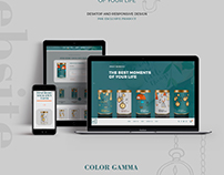Sweet Moments / Web Design