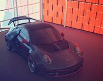 BAD BOYS FOR LIFE Porsche 911 Bad Boy body kit