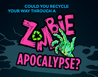 Zombie Carton Recycling Quiz - Web Application