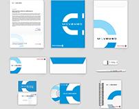 Movemed Corporate Identity Design