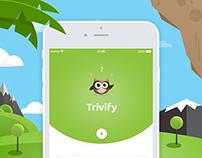 Trivify mobile app