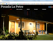 Web site and photography - ¨Posada La Petro
