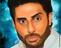 Abhishek Bachchan | Digital Painting