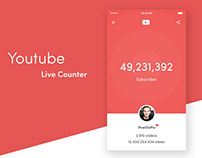Youtube Live Counter
