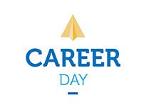 Career day 2015 event branding