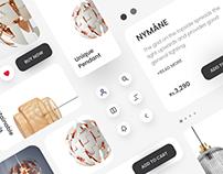 Pendant Lamp Concept UI Design