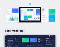 Maze Admin Dashboard UI Design