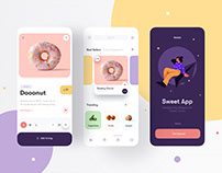Sweets Mobile App 🍭