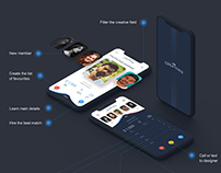 The Creatives – App service for recruiters