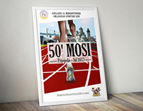 50th MOSI - Poster Design