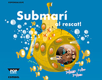 Pop Down Book: Rescue Submarine