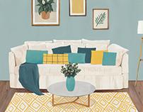 Interiores y mobiliario