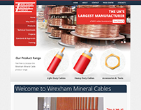 Wrexham Mineral Cable Website Redesign