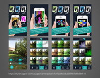Mobile Application Interface Design for Camera Plus FX