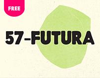 57- Futura (Free Font)