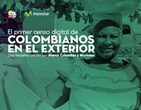 El Primer Censo Digital de Colombianos en el Exterior