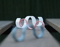 WAVES Design concept of a printed 3D ring