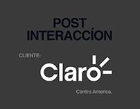 Post interacción-cliente: Claro