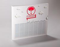 """Ursüsse """"auf offenem Meer"""" - CD Design"""
