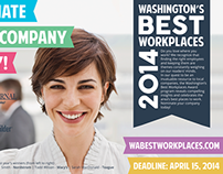 Washington's Best Workplaces Advertisement
