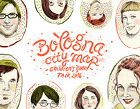 Portraits & Typo - Bologna Children's Book Fair Map