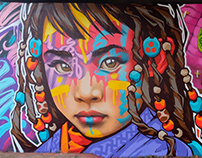 "Street art festival ""Buryatia in colors"""