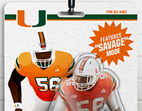 Miami Hurricanes Action Figure Wallpapers