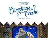 Build your own Christmas Creche!