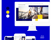 UX/UI design - MARITIMA