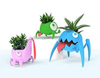 Monster Pots - Succulent Planters