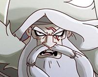 Character design challenge: Eskol the viking