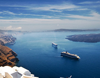 Santorini website