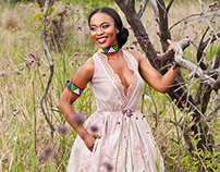 Nomzamo Mbatha Covers BONA Magazine February 2015