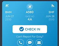 Flight Crew Scheduler