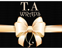 Logo Designing for T.A WRAPS