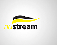 Portfolio identité - Logo, NuStream