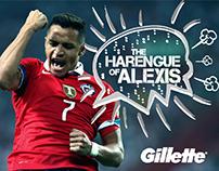 ALEXIS Harangue World Cup Brazil 2014