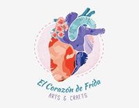 El Corazón de Frida Logo