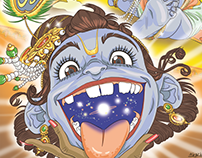 L'intero universo nella bocca di Bala Krishna