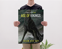 Lost into the age of vikings - Book cover.
