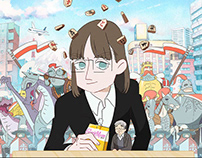 """Susume, Karolina"" web anime"
