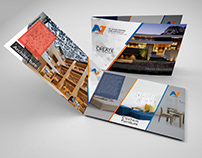 AJ group of companies brochure design dubai