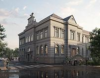 Revitalization complex in Rokycany. RUSINA FREI.