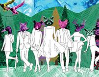 Lucid Creatures - Snowboard Branding