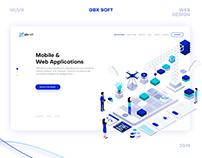 Website Design – Gbx Soft