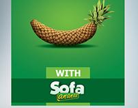 Sofa Ananas