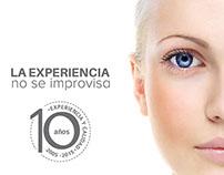 Centro de Estética Dario Cabello - Campaña 10 años